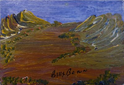 Billy Benn Perrurle - Central Australian Landscape - Cat 14368BB
