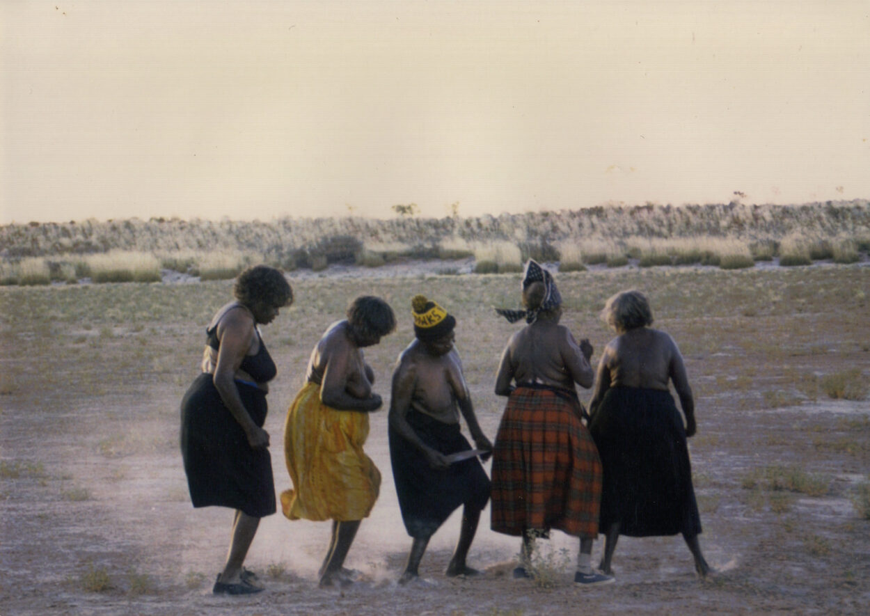 Dancing on Claypans - Mina Mina 1999 © Gallery Gondwana