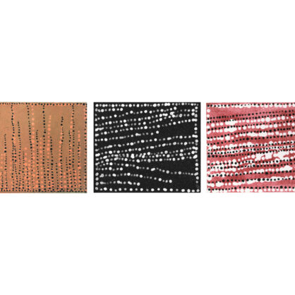 Dorothy Napangardi - 'Etching Suite' – Spinifex Country, Salt, Sandhill Country - Cat DN-16, DN-17, DN-18