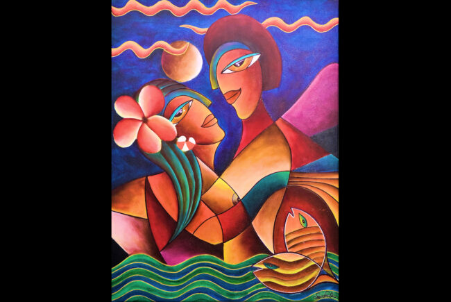 Gallery of Arvinda Nath Sukul - Exhibition Language of Love...