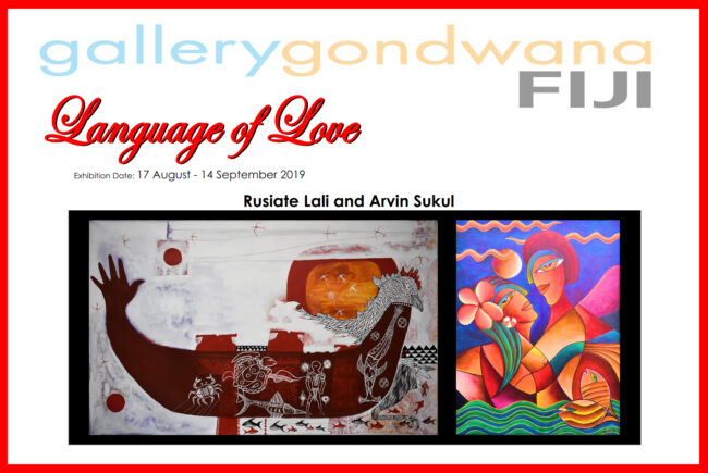 Behind the scenes of Language Of Love Exhibition